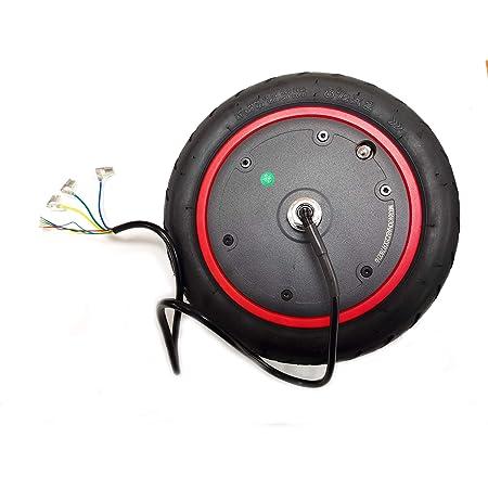 EWheel | Rueda Motor de 300W para Patinete Xiaomi M365, 1S, Essential, Pro y Pro 2 | Motor Patinete eléctrico | Incluye neumático y cámara de 8,5 ...