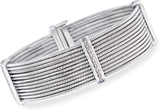 Best stainless steel cable bracelets with diamonds Reviews