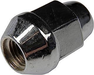 Dorman 611-182 Wheel Nut M12-1.50 Acorn - Bulge Seat - 21mm Hex, 35.1mm Length for Select Models - Chrome, 10 Pack