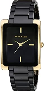 Women's Gold Tone and Ceramic Bracelet Watch