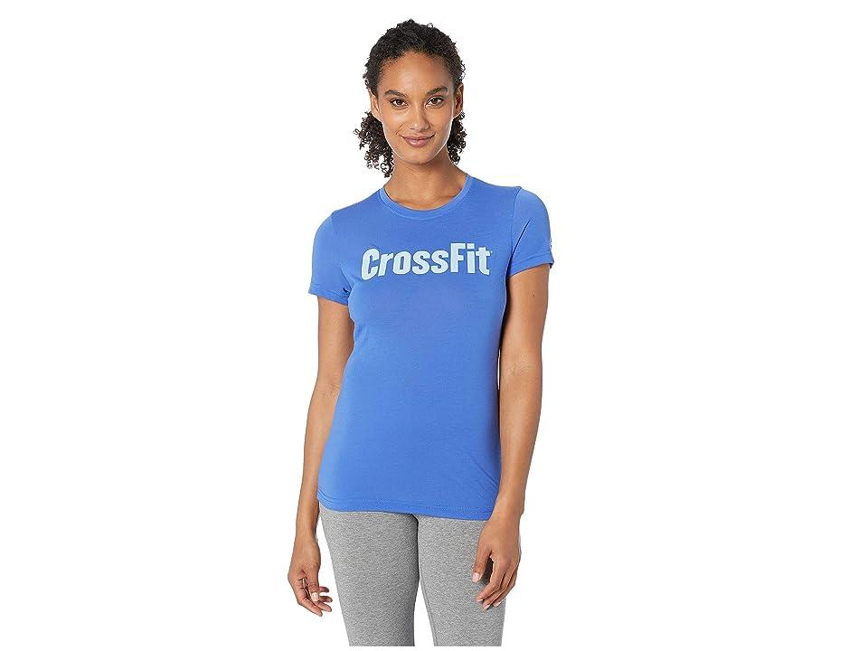 Reebok Forging Elite Fitness Speedwick Tee (Blue) Women