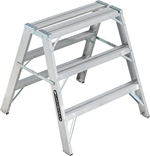 Louisville Ladder 3-Foot Aluminum Sawhorse, 300-Pound Duty Capacity, Type IA, L-2032-03