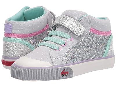 See Kai Run Kids Peyton (Toddler/Little Kid) (Silver Mix) Girls Shoes