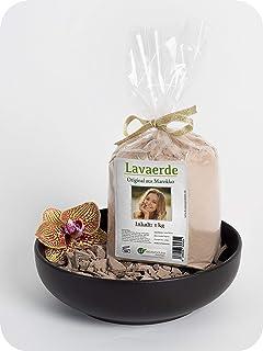 Polvo de arcilla / ghassoul | original de Marruecos | 1kg | polvo fino para lavar el pelo sin químicos, cuidado del cuerpo y peeling | vegano | rhassoul | anticaspa