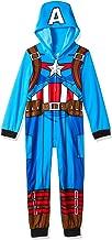 Marvel Boys' Captain America Uniform Hooded Blanket Sleeper