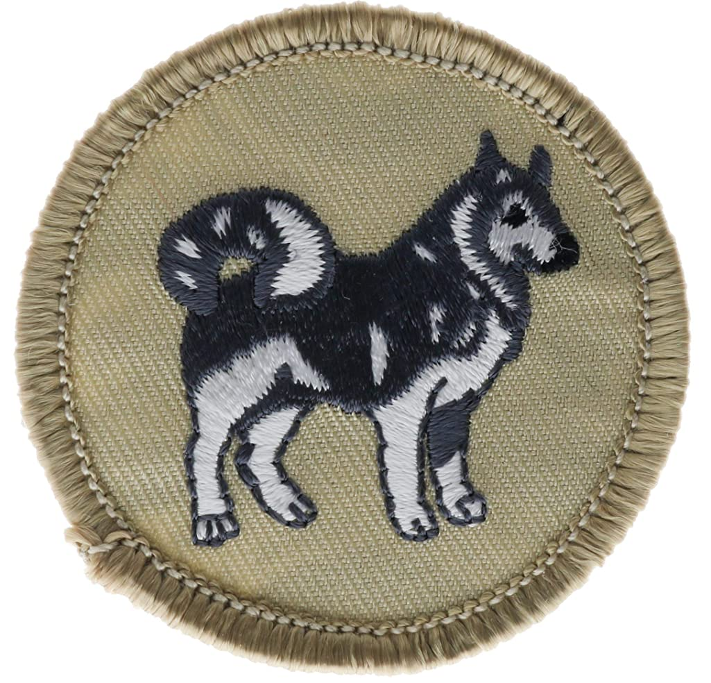 Huskies Patrol Official BSA Patrol Patch Embroidered 2