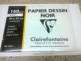 Clairefontaine 96771C - Un pochette Dessin à grain