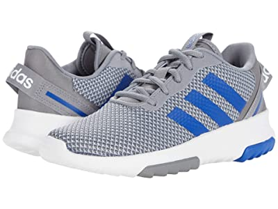 adidas Kids Racer TR 2.0 (Little Kid/Big Kid) (Grey/Team Royal Blue/Halo Silver) Kid