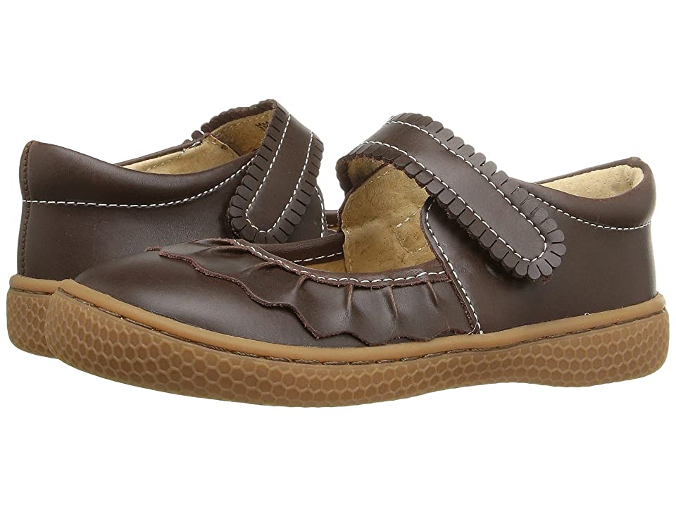 Livie & Luca Ruche (Infant/Toddler/Little Kid) (Mocha) Girls Shoes