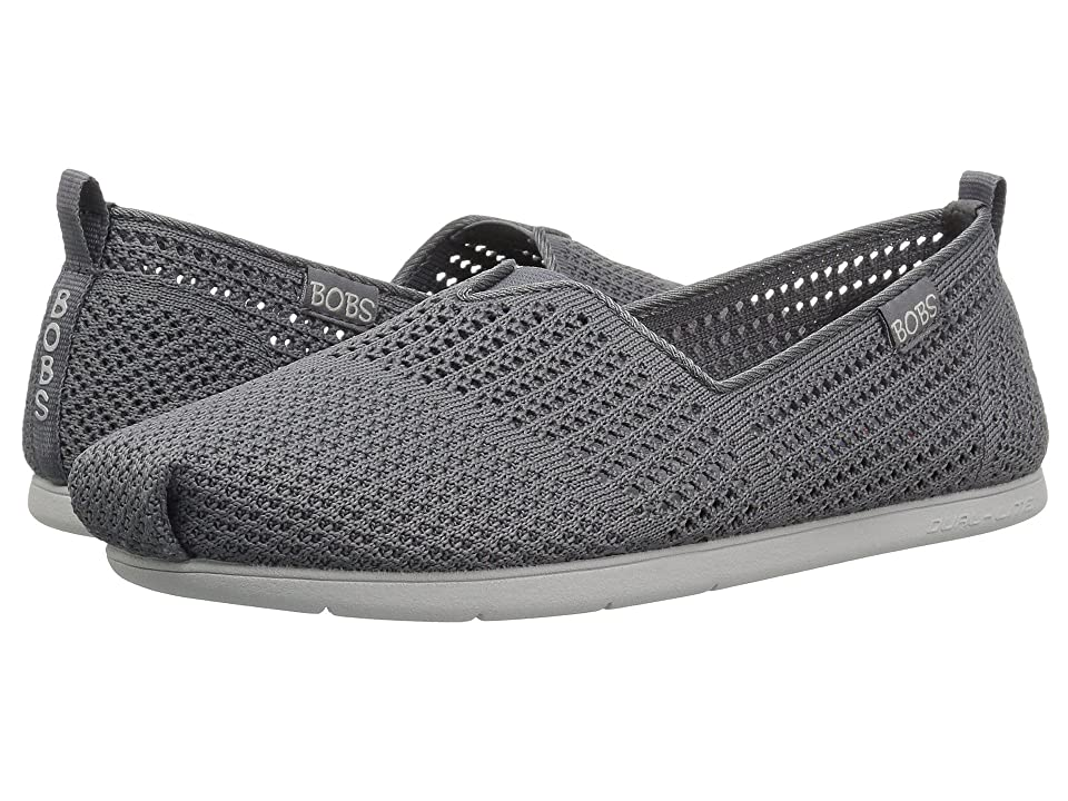 BOBS from SKECHERS Plush Lite Peek (Charcoal) Women