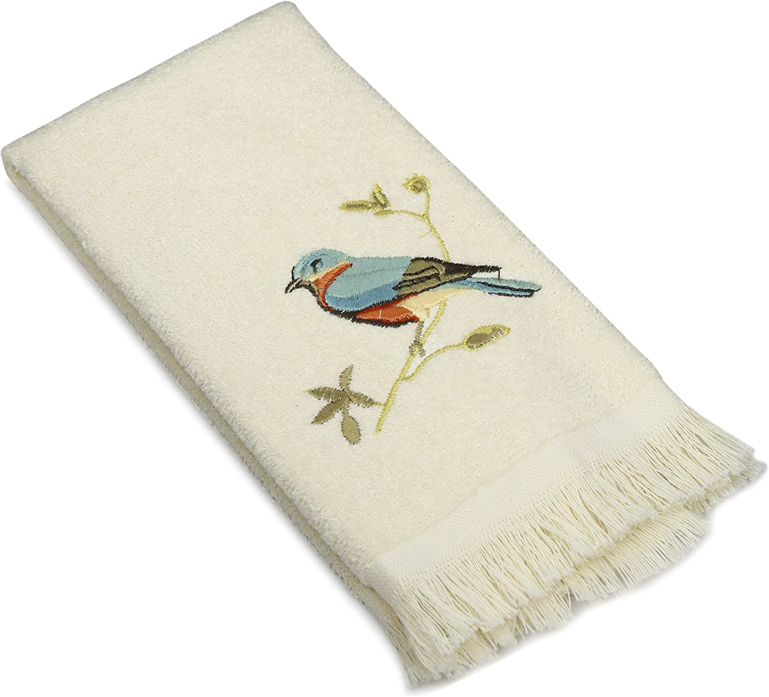 Avanti Linens Gilded Outlet ☆ Free Shipping Birds Fingertip online shop Towel Ivory Collection