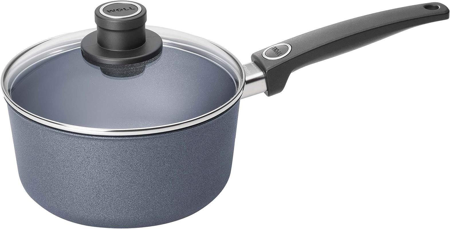 Woll W920DPSL Plus Diamond Lite Sauce Pan 3 Quart Saucepan With Lid
