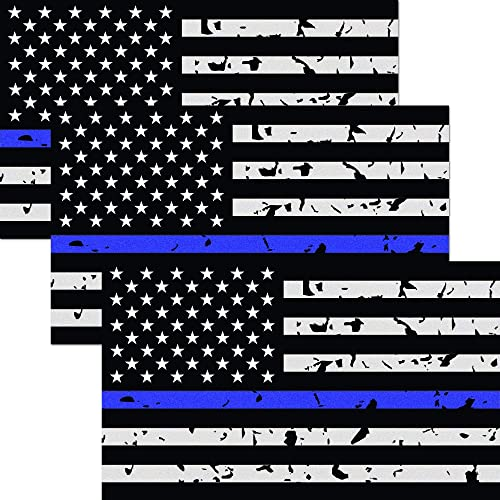 2 Decals 4 X 4  Blue Checkered Flag Custom Graphic Decal 1 Pair
