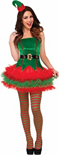 Forum Novelties Women's Sassy Elf Costume