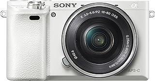 Sony Alpha 6000 - Cámara compacta de 24.3 Mp (pantalla de 3.0 zoom óptico 3x) blanco (importado)