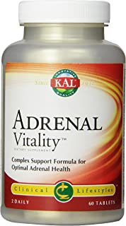 KAL Adrenal Vitality Tablets, 60 Count