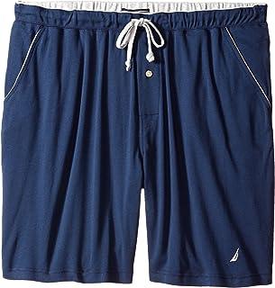 Nautica Men's Soft Knit Elastic Waistband Sleep Lounge Short