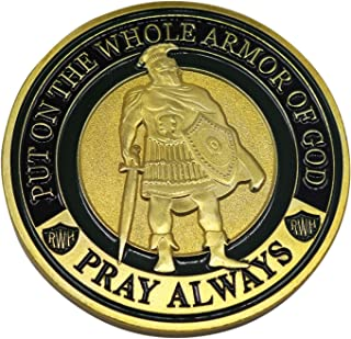 HS Put On The Whole Armor of God Challenge Coins (Ephesians 6:11-18)