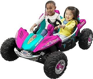 Pixelated Pink Power Wheels Dune Racer