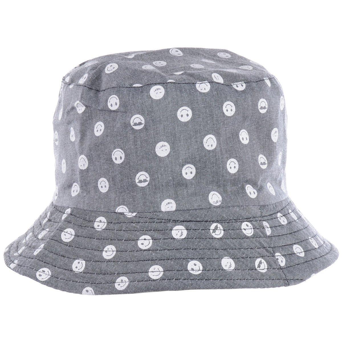 ファッション折りたたみ両面黒印刷漁師漁師帽子、複数のパターン