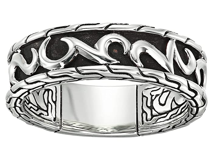 John Hardy  7 mm Classic Chain Band Ring (Sterling Silver) Ring