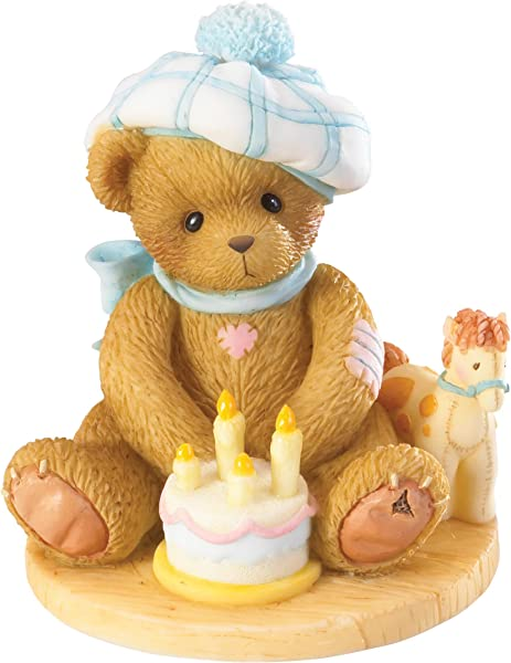 Cherished Teddies Age 4 Happy Fourth Birth Neigh Through The Years Series 4020575 NEW