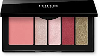 KIKO Milano Smart Eyes and Cheeks Palette - 04 Burgundy Expression