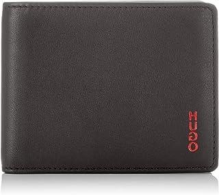 HUGO 男士 Subway Vl_6 Cc 钱包 黑色 1.5x8.5x11 cm
