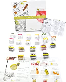 Te Tonic Gin And Tonic Party Box – 24 Gin and Vodka Infusions, 8 Botanicals Bags - Cocktail Infusion Kit For Bars/Restaurants And Hotels – Ideal Gin Gift Box