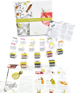 Te Tonic experience Gin Partybox garnish set Botanicals Infusions - for Flavoring Your Gin Cocktail with Spices, Flowers a...