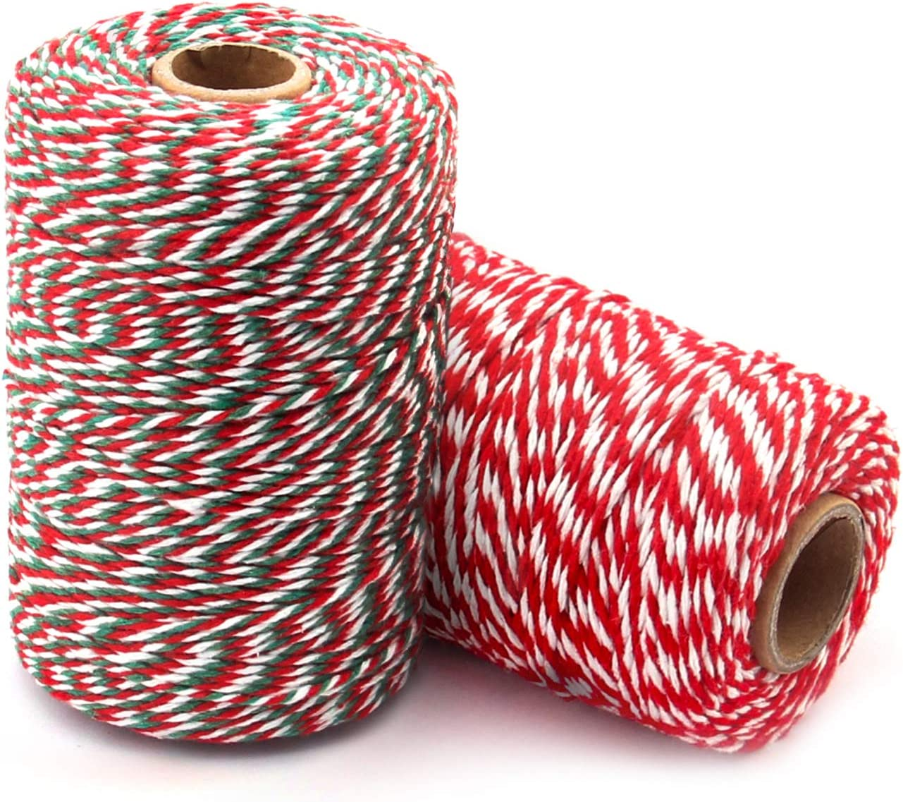 Cotton Bakers Twine Red Safety and trust White Green and 400 Philadelphia Mall Feet 1312