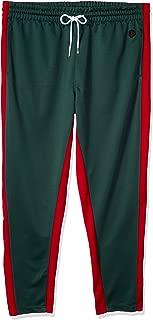 Men's Athletic Skinny Track Pants Open Bottom