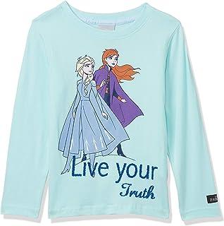 Disney Girl's Disney Frozen Girl's Long Sleeve T shirt T-shirts