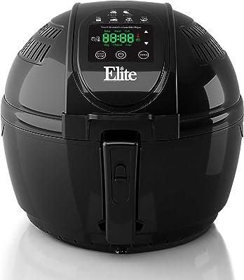 Elite EAF-1506D-P Espro - Mezclador plano, canasta de una capa, Negro, 3.3 L, 1