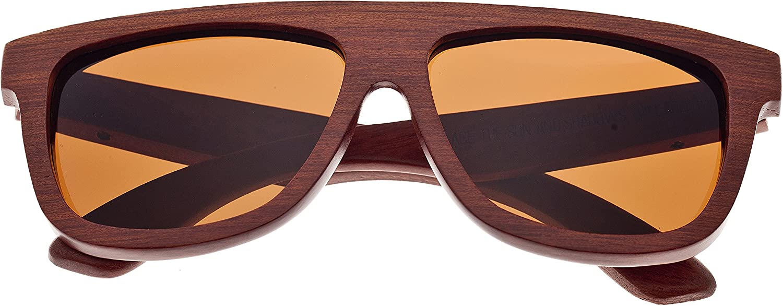 Earth Wood 購入 Imperial 手数料無料 Wayfarer Unisex Polarized ES Sunglasses