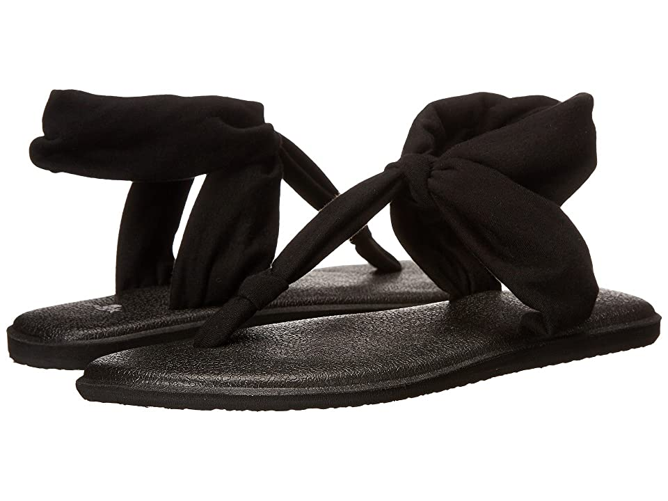 Sanuk Yoga Sling Ella (Black) Women