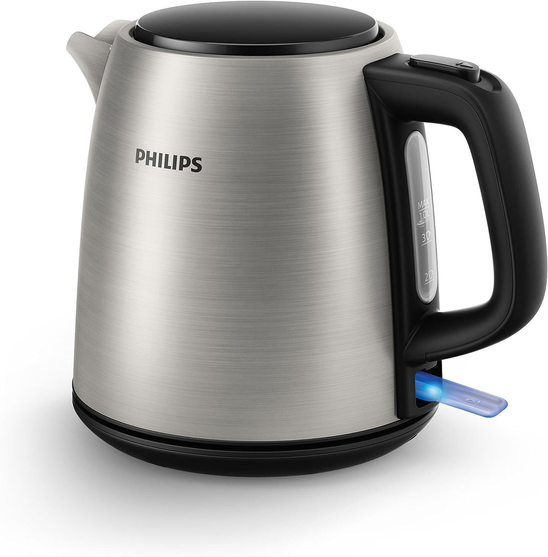 marca Philips HD9348 10 - Hervidor eléctrico,  acero inoxidable, inoxidable, inoxidable, 1L, 2000W  marca de lujo