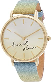 Daniel Klein Trendy Ladies - Silver Dial Multicolor Band Watch - DK.1.12643-2