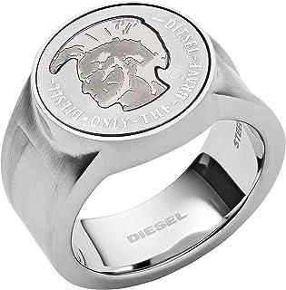 خاتم فضة للرجال من ديزل، DX1202040