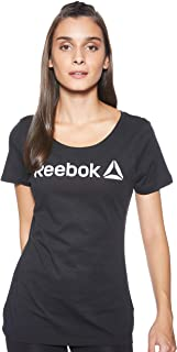 Reebok Women's Linear Read Scoop T-Shirt