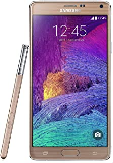 Samsung Galaxy Note 4 SM-N910H  32GB Factory Unlocked International Model Cell Phone - Retail Packaging - Gold