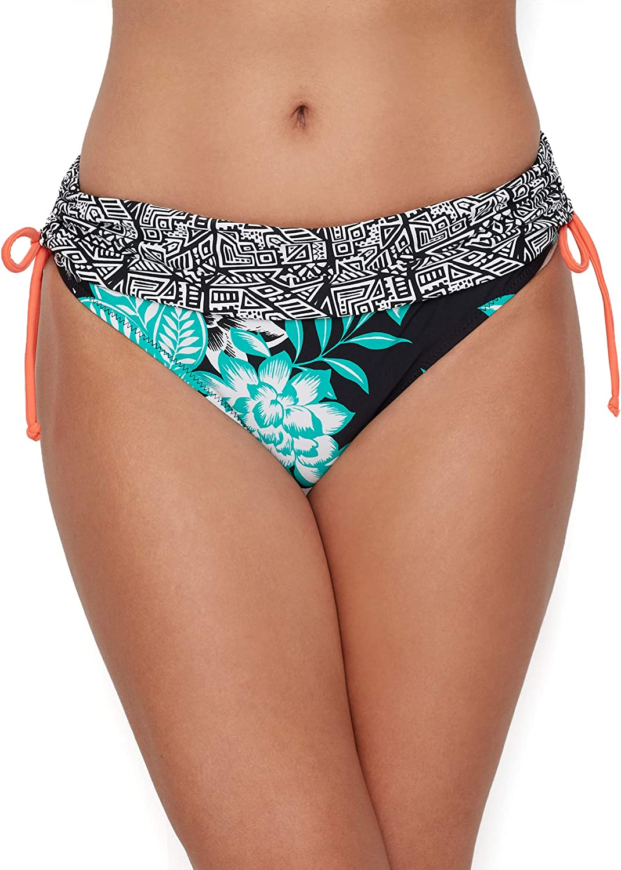 Pour Moi Sea Breeze Fold-Over Bikini Bottom