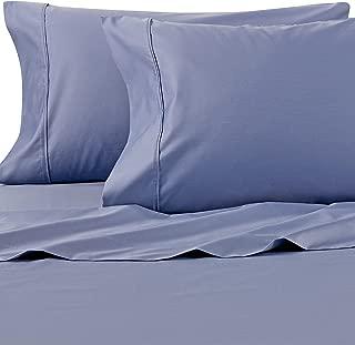Wamsutta 625-Thread Count PimaCott King Sheet Set in Blue Jean