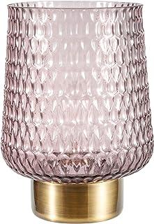 Pauleen 48135 Sparkling Glamour Lampe Mobile Poser minuterie 6 Heures Pile luminaire câble Verre Gris/Métal, 0.8 W, Brun, ...