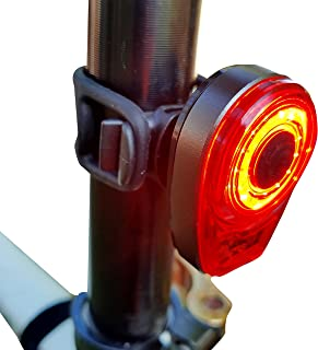 Bright Eyes Taillight - USB Rechargeable with Extreme Bright COB Technology - 6 Modes (3 Brightness Levels) - No Tools - Install On Bicycle, Helmet, or Clip on Clothing for Safety