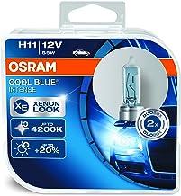 OSRAM 64211CBI Cool Blue Intense, H11, blauwachtig wit licht, halogeen koplamp, Duo Box (2 lampen)