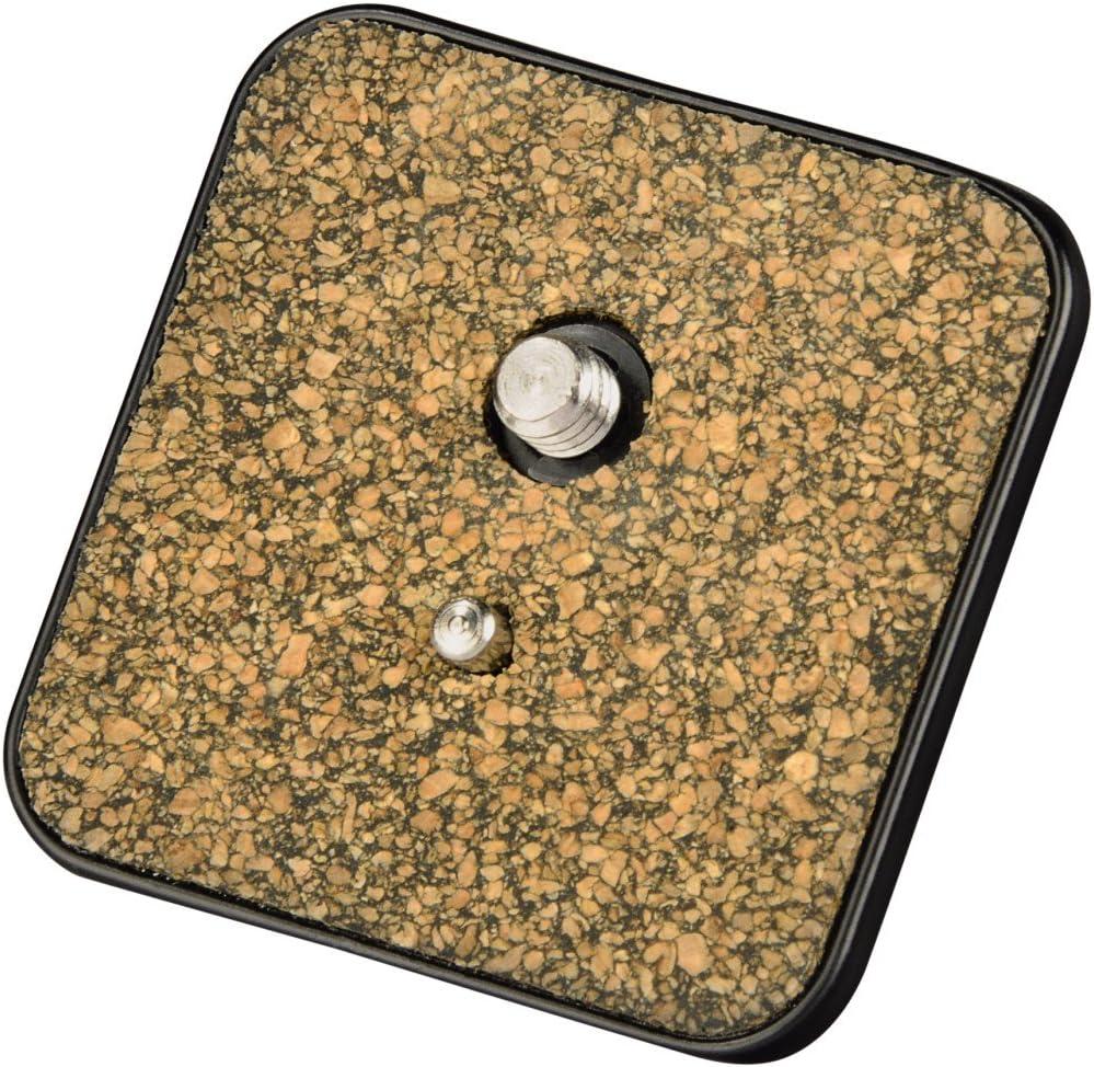 Hama Schnellkupplungsplatte Für Stativ Delta Pro 180 2d A 1 4 Gewinde Schwarz