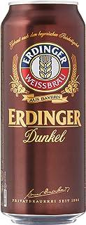 Erdinger Dunkel Dark Wheat Beer Can, 500ml (Pack of 24)