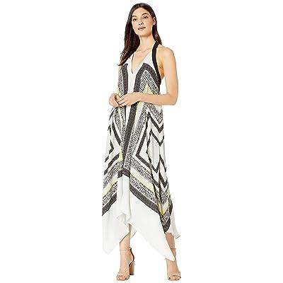 BCBGMAXAZRIA Cocktail Long Woven Soft Dress (Textured Stitch Scarf) Women
