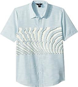 Blocked Short Sleeve Shirt (Big Kids)